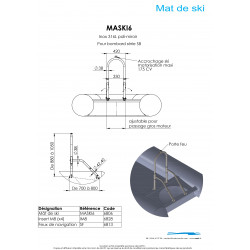 Schéma + dimensions MASKI6 MATC