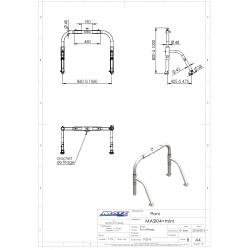Schéma et dimensions MASKI4+ MATC