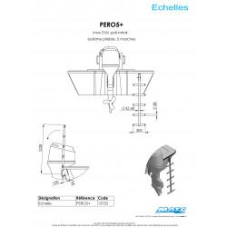 Schéma et dimensions PERO5+ échelle MATC